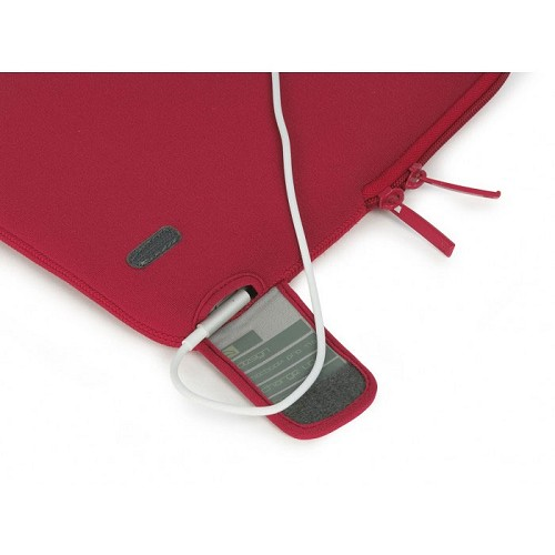 TUCANO Charge Up Second Skin [BFCUPMB13-R] - Red (Merchant) - Notebook Sleeve